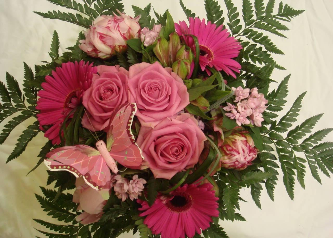 Comment scher les fleurs d'Hortensia pour en profiter Bouquet de fleures photos