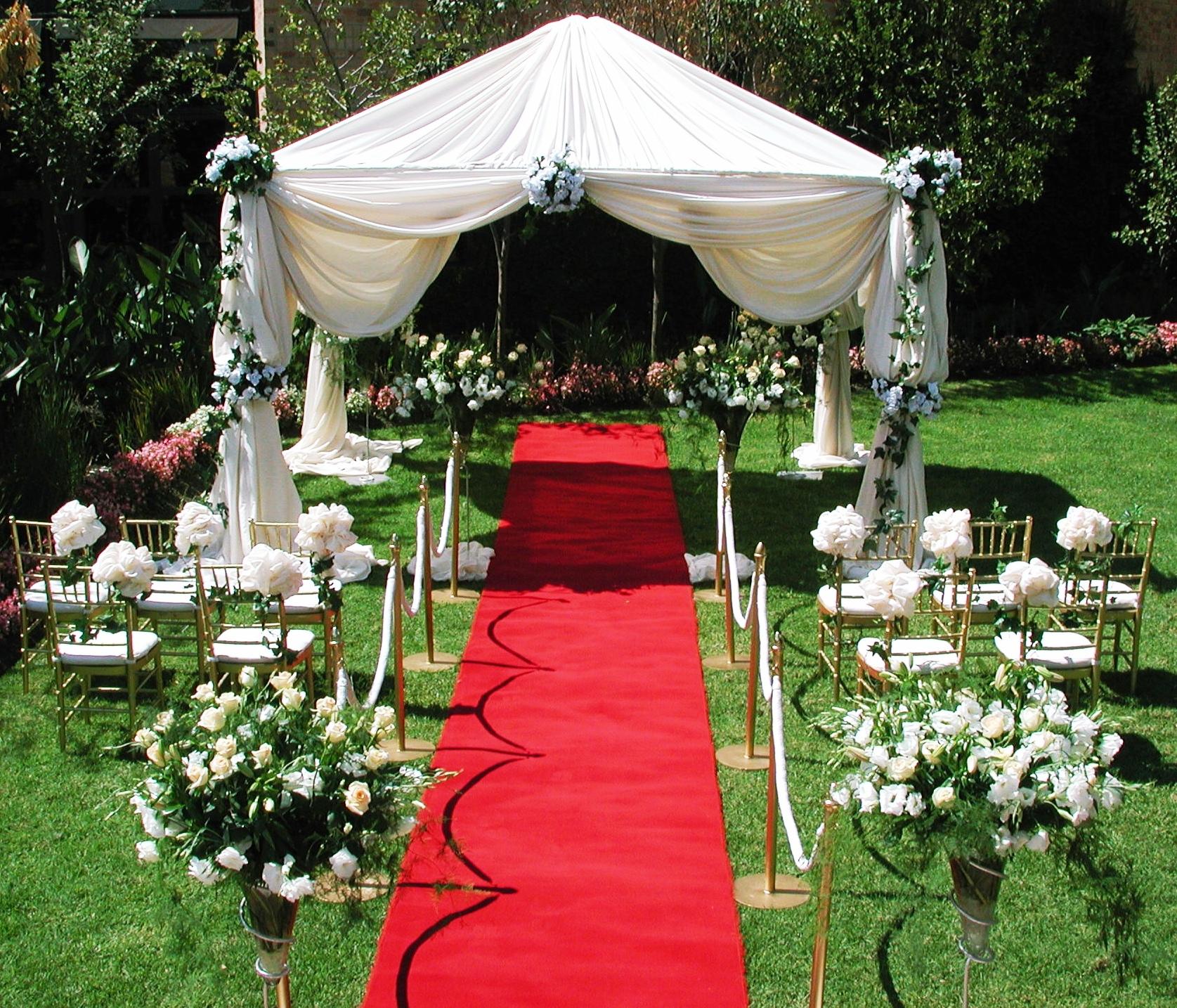 Свадьба на даче оформление своими руками