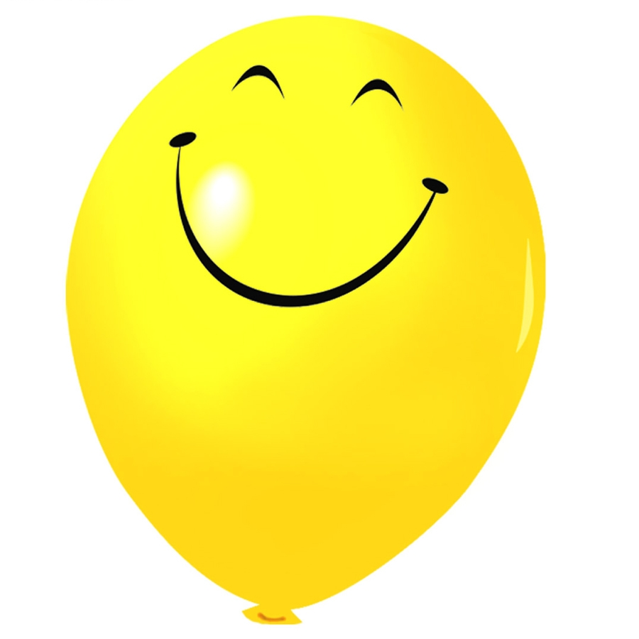 шарик желтый картинка